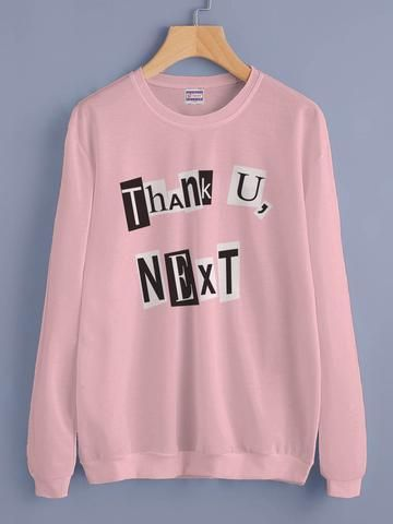 Thank You Next Sweatshirt NT