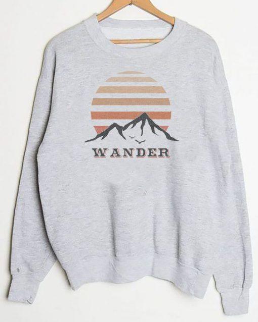 Wander sweatshirt NT