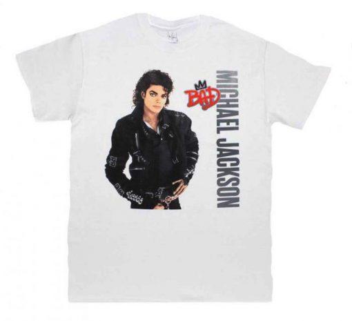 MICHAEL JACKSON Bad Crown t shirt RJ22