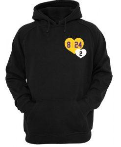 8 24 2 Kobe & Gigi in Hearts hoodie RJ22