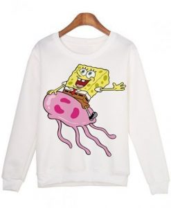 SpongeBob Cartoon Printed Sweatshirt RJ22
