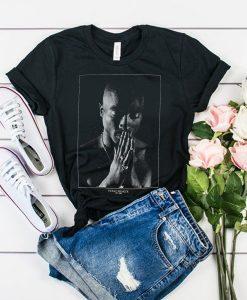 Tupac Shakur Praying t shirt RJ22