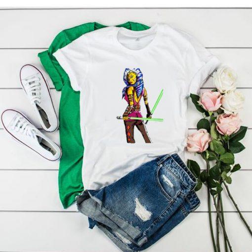 Ahsoka Tano Heroic t shirt RJ22