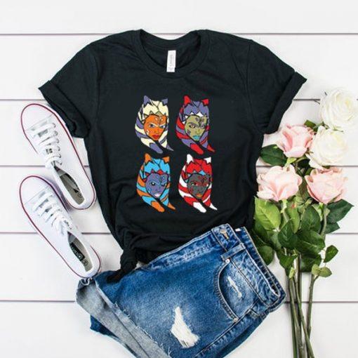 Ahsoka Tano Pop Art t shirt RJ22